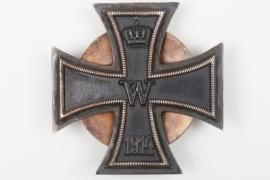 1914 Iron Cross 1st Class on screwback