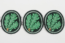3 + Heer Jäger sleeve badges