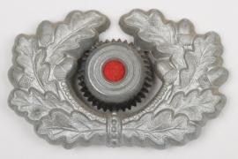 Heer visor cap wreath - EM/NCO