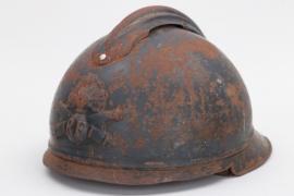 France - M1915 adrian helmet for tank troops