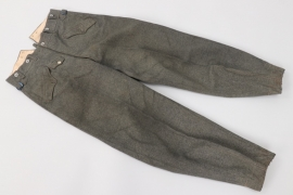 Third Reich - Heer Geb.Pio.Btl.54 mountain trousers