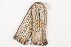 Prussia - Inf.Rgt.25 shoulder boards for a Leutnant