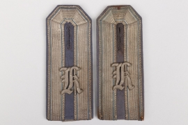 Preußen - Bezirkskommando Karlsruhe shoulder boards for a deputy officer