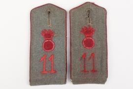 Prussia - M1910 shoulder boards FAR 11 - EM