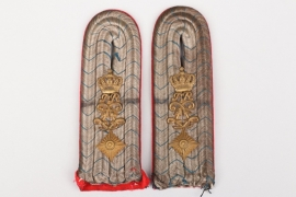 Bavaria - 1. bayer. Feldartillerie-Regiment shoulder boards - Oberleutnant
