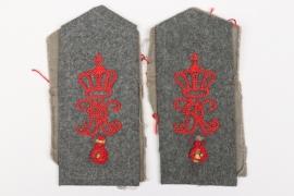 Württemberg  - 13. Feldartillerie-Reg. shoulder board blanks