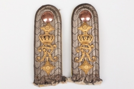Prussia - Grenadier-Reg. Nr. 5 shoulder boards for a Hauptmann
