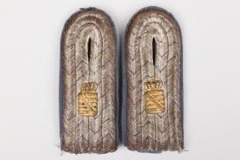 Saxony - civl servant shoulder boards - Zahlmeister