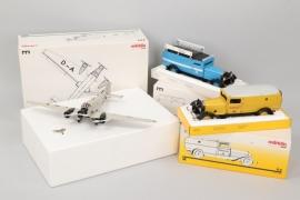 Märklin - Konvolut Flugzeug & Fahrzeuge