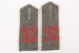 Prussia - Inf.Rgt.162 shoulder boards - EM