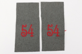 Imperial Germany - Inf.Rgt.54 blank shoulder boards