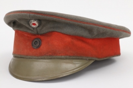 Prussia - fieldgrey officer's visor cap