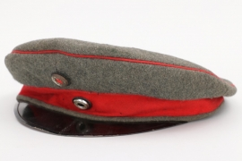 Prussia - fieldgrey infantry officer's visor cap