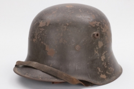 Imperial Germany - M16 helmet with chin strap - TJ66