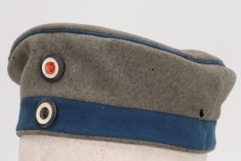 Prussia - fieldgrey Train field cap (Krätzchen)