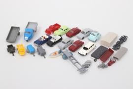 Märklin - Siku - Wiking - Konvolut Fahrzeuge & Ersatzteile