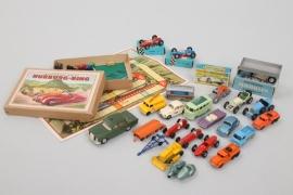 Lesney - Gama - Märklin - Konvolut Fahrzeuge