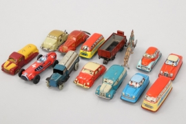 Huki - Tipp & Co. -Technofix - Konvolut Fahrzeuge