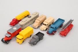 Wiking - Konvolut Fahrzeuge
