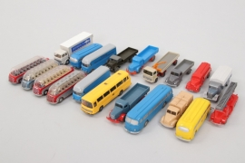 Wiking - Konvolut Busse & Nutzfahrzeuge