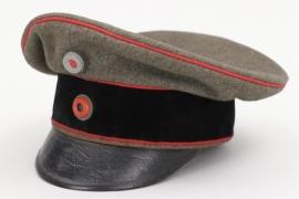 Wurttemberg - field officer's Artillery, Engineer, Transport troops visor cap