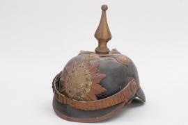 Mecklenburg-Schwerin - Füsilier-Rgt. 90 officer's spike helmet
