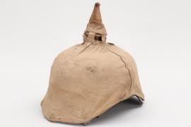 Prussia - spike helmet camo cover - EM
