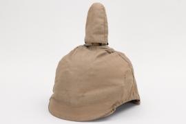 Imperial Germany - Artillerie spike helmet cloth camo cover