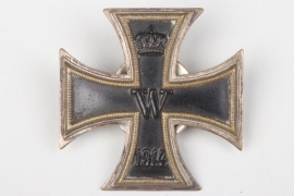 "Prussia - ""Ostende 1917"" engraved 1914 Iron Cross 1st Class on screw-back"