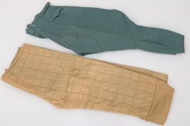 Third Reich police breeches (1935) + Russian winter paints