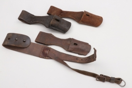 Imperial Germany - bayonet frogs & pack strap