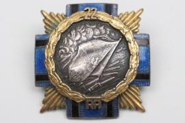 "Poland - ""22 Pułku Piechoty"" regimental badge"