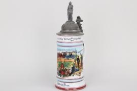 """4.Feld.-Art.Rgt.""""König"""" Augsburg reservist's mug"""