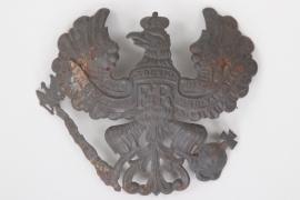 Prussia - fieldgrey Linien-Helmet-Eagle for EM/NCO M1907/10