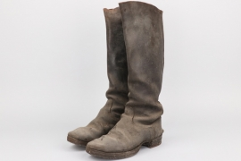 Imperial Germany - cavalry field boots