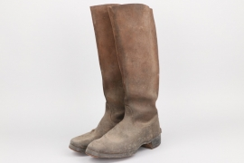 Imperial Germany - M1915 cavalry field boots