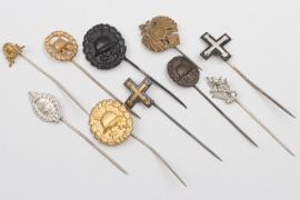 Imperial Germany/Weimar Rebublic - miniature stick pins
