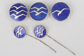 Third Reich - lot of Glider badges