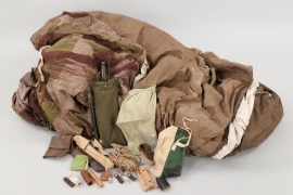 "Great Britain - Camouflaged WWII ""Commandos"" tent"