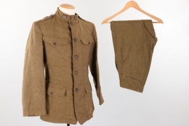 USA - WWI 7th Infantry Division tunic and trousers - 1918
