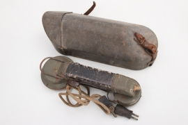 Imperial Germany - field telephone in case