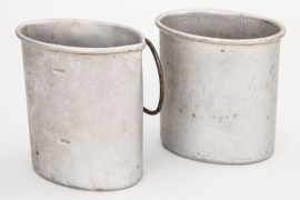 Imperial Germany - 2 canteen cups