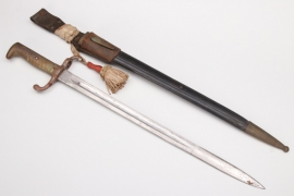 Prussia - bayonet SG 71 with knot and frog