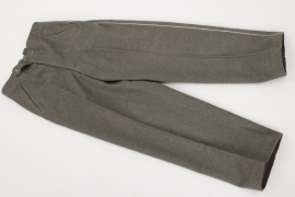 Third Reich - Heer straight infantry trousers
