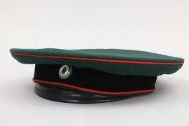 Saxony - Jäger officer's visor cap