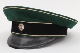 Hesse - unknown officer's visor cap