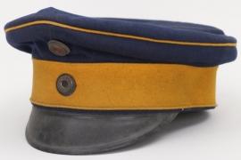 Prussia - Ulan-Regiment 3/11/15 officer's visor cap
