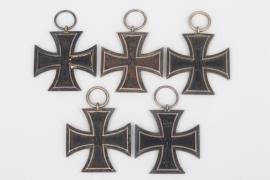 Prussia - 5 +1914 Iron Cross 2nd Class