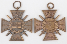 Weimar Republic - 2 + Naval Corps Flandern cross