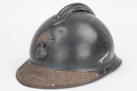 "France - ""Commandant Pasty"" WWI remembrance Adrian helmet"